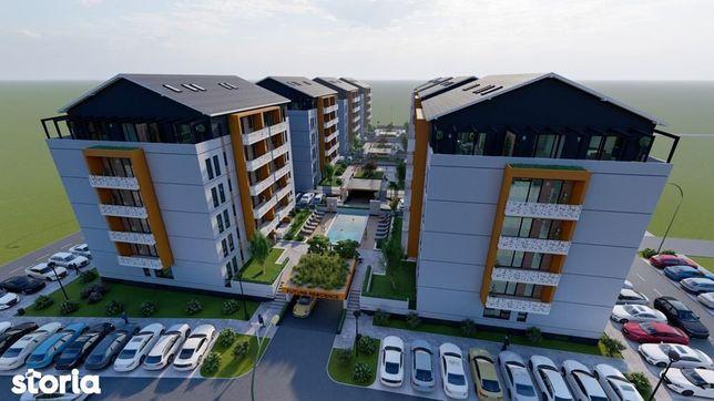 Apartament cu 2 camere-Giroc-Premium-Bloc Nou-Piscina Exterioara