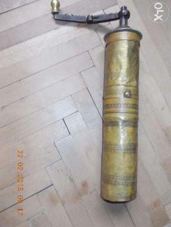 (pt colectionari)Rasnita turceasca alama pt cafea piper(peste 100 ani)