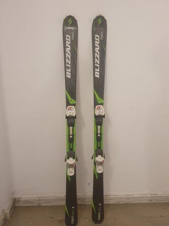 Vând schiuri Blizzard, 150 cm, clăpari Nordica, mărimea 40,bețe Scott