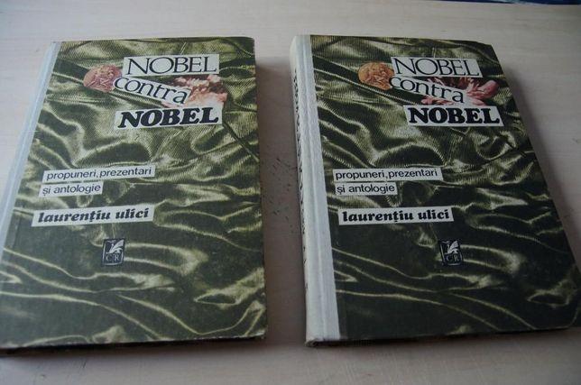 """Doua carti foarte interesante ! """"NOBEL contra NOBEL"""" Vol I si II"""