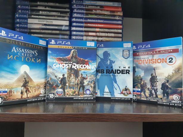Продам диски на PlayStation 4