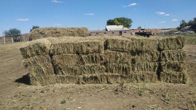 Здравствуйте продается сено в тюках сено разнотравья .