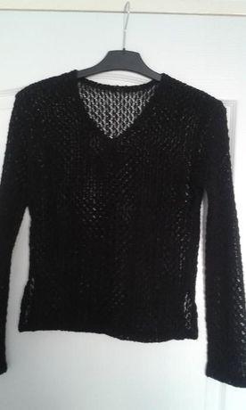 Bluza neagra dantela M