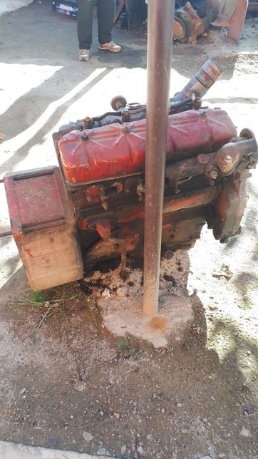 Motor tractor International 844 S defect