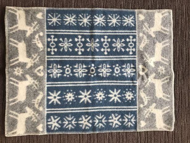 Одеяло -плед 100% Эко шерсть. Детское