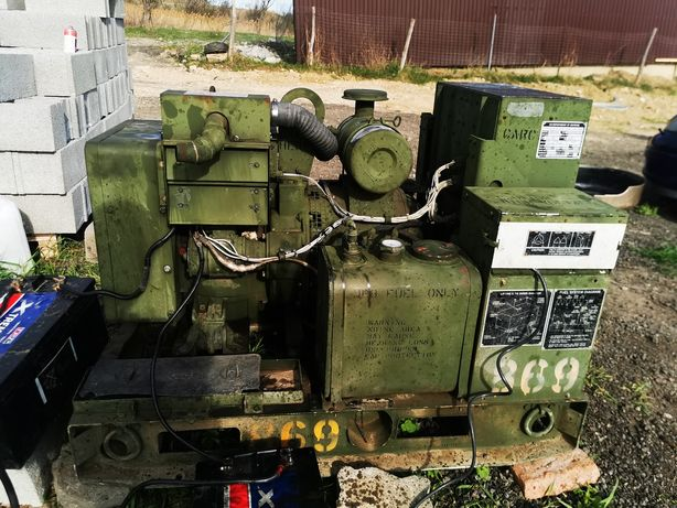 Vând generator militar 5 kw 220v