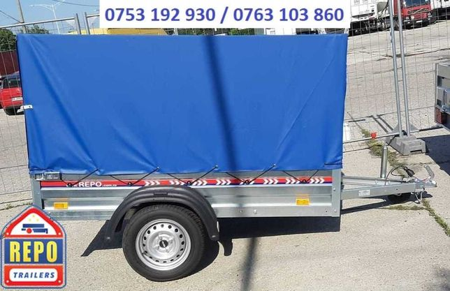 Remorca 750 kg peridoc apicola moto atv trailer auto comerciala frigo