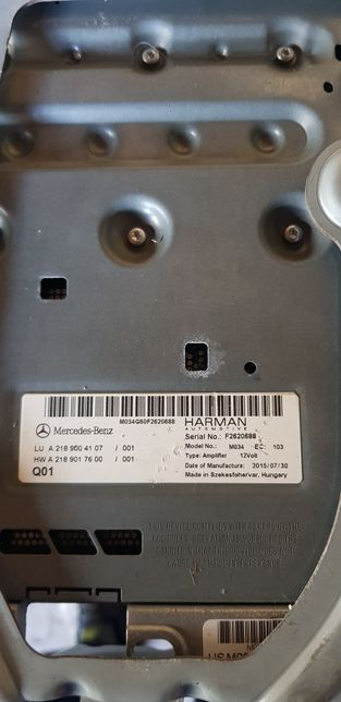 Statie aplificare Harman Kardon, model M034 , 2015