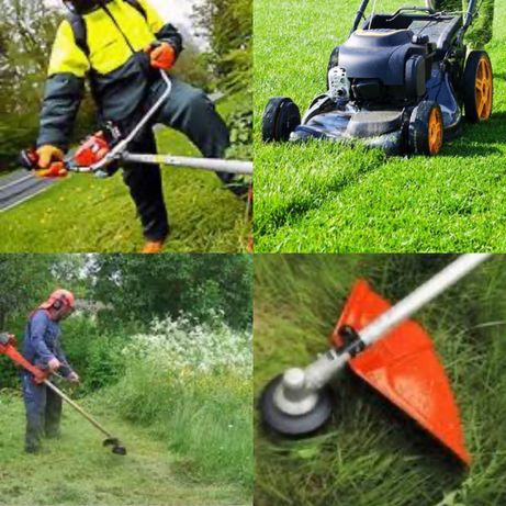Газонокосилка Триммер Мотокоса пила посуточно для покоса травы газона