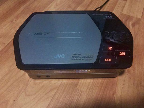 Mini sistem JVC cu boxe Quadral
