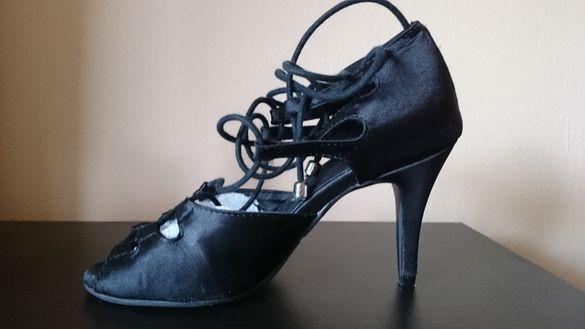 Дамски обувки за латино танци на Burju, street-all подметка, Alemana