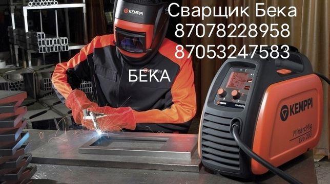 Сварщик на выезд кемпи Полуавтомат