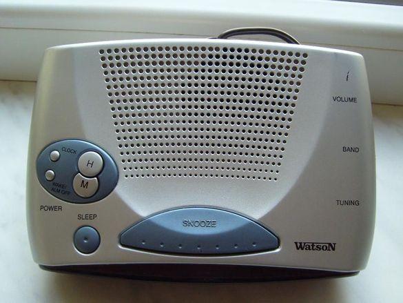 Радиочасовник.