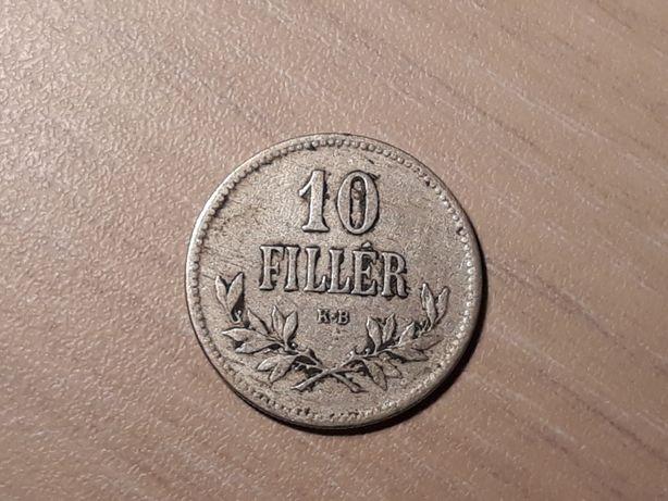 Moneda 10 filler 1915