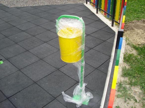 Паркови кошчета за боклук