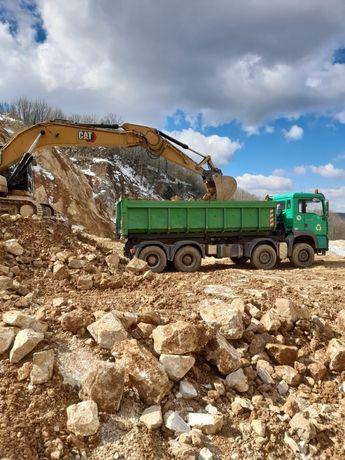 Transport nisip,piatra,zgura/Inchiriez autocamioane+container moloz