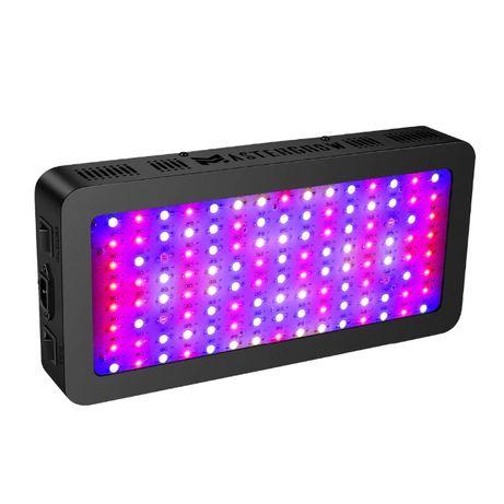 НОВ МОДЕЛ Осветление за растения МОЩНА ЛЕД Лампа 1200W-LED