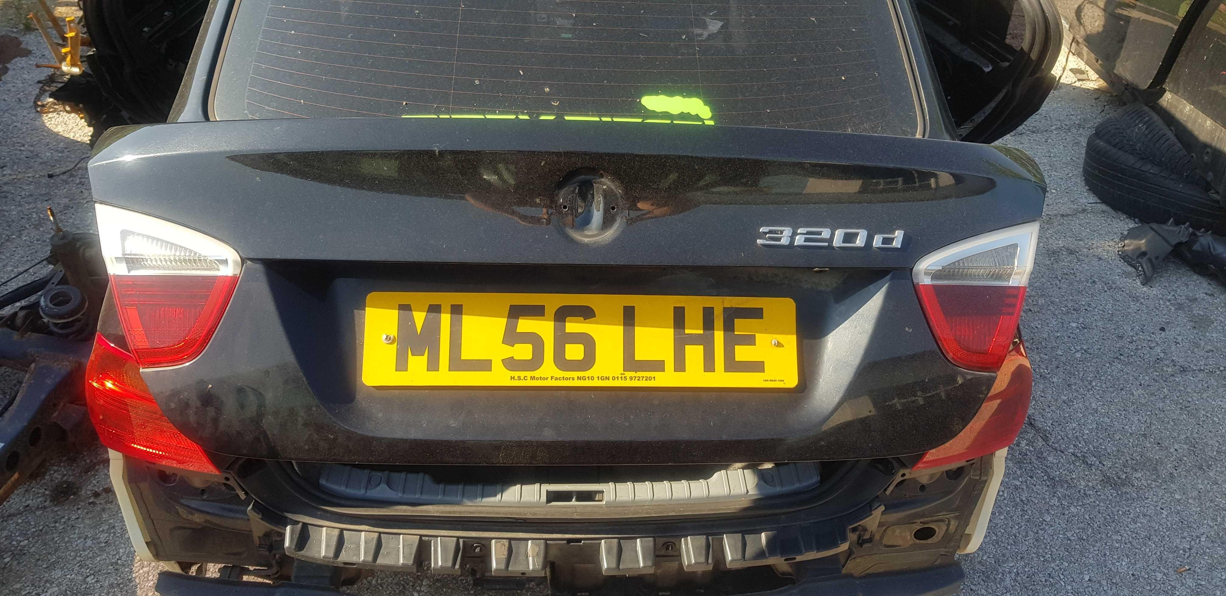 Заден капак-/багажник/-/БМВ/BMW/-е90 320д 163кс бмв м47 e91 e92 e93