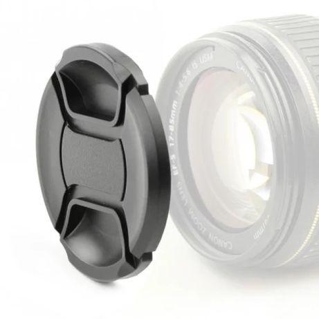 Предна капачка за обектив Canon Nikon Sony Pentax Olympus
