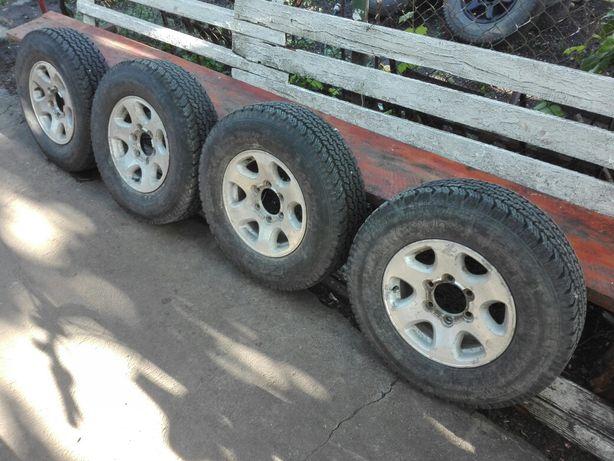 Jante aluminiu magneziu aliaj R15 Toyota Nissan Patrol Frontera Pajero