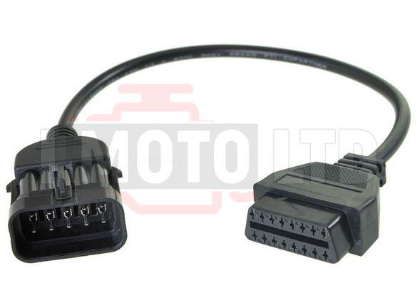 Кабел / Преходник за Opel 10 Pin / 10 пин за Delphi, Autocom