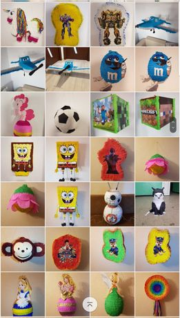 Pinata Lol Frozen Minecraft Printese Unicorn Spider Car Ponei Soy luna