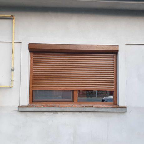 Rulouri Exterioare Lemn PVC Auminiu , Porti de garaj tip rulou