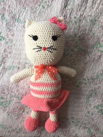 Плетена играчка Коте