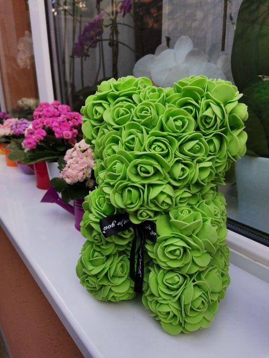 Ursulet flori spuma Bucuresti - imagine 1