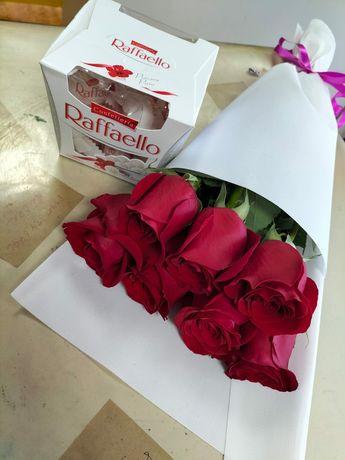 Бесплатная доставка цветы Караганда, недорого