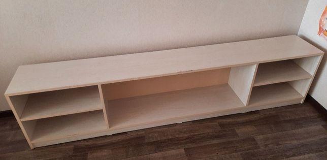 Полка деревянная под телевизор / игрушек
