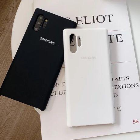 Samsung Note 10 10 Plus - Husa Slim Silicon si Interior De Catifea