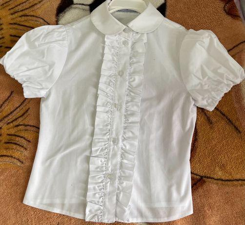 Блузка белая (школьная)