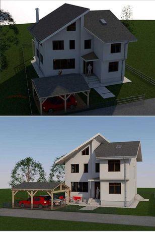 Casa de Vanzare S+P+1E+M - Clinceni Sat Olteni Str. Ciorogarla nr.78
