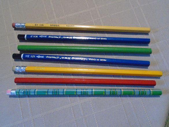Графитни моливи 7 броя