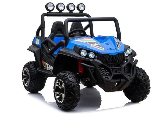 UTV electric pentru copii Golf-Kart S2588 180W PREMIUM #Albastru