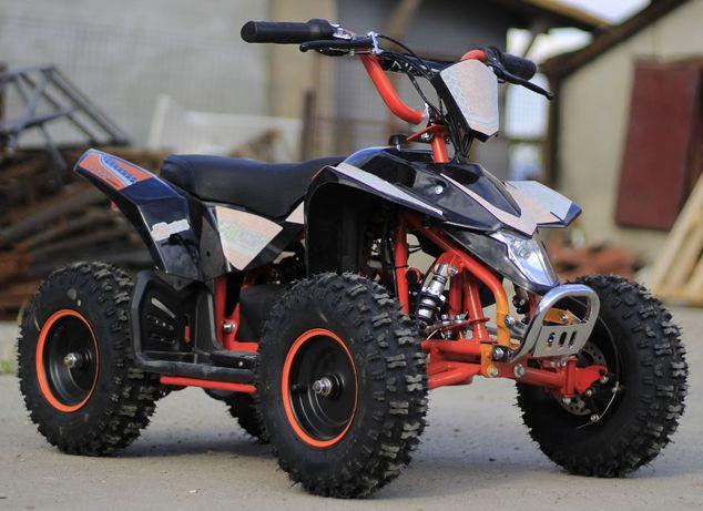 ATV Electric pentru copii ECO Maddox 1000W 6 inch cu 3 Viteze #Oranger