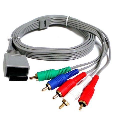 Cablu AV Audio Video Compozit pt consola Nintendo Wii pt TV vechi