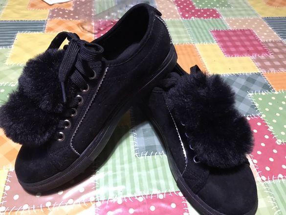Обувки с гумена подметка от Англия