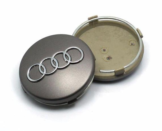 4 броя капачки за джанти за AUDI и VW с диаметър 60, 69 , 135 mm