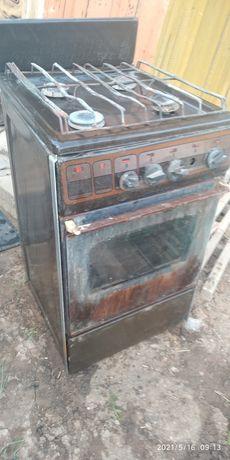 Газовая плита  и электроплита из качественного, крепкого металла