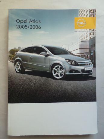 Atlas rutier (Opel Atlas), Europa, Tarile Baltice