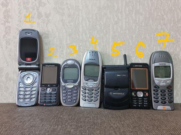 Ретро раритет Nokia Motorola Siemens Sharp Sony Ericsson