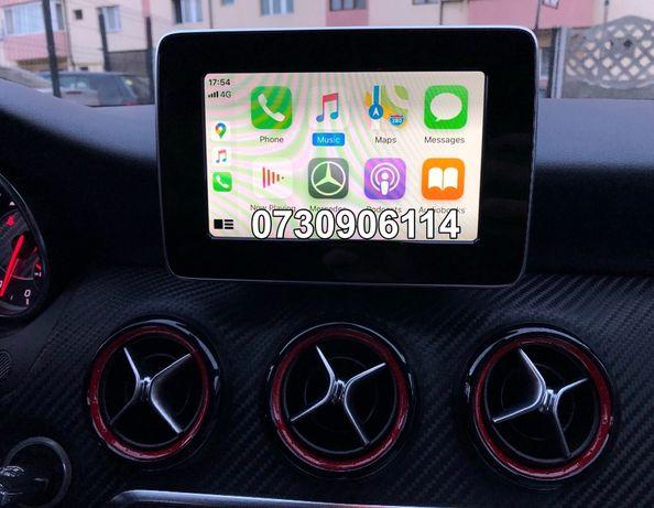 Iphone Apple Car Play Mercedes C CLA GLA GLC GLE GLS A B