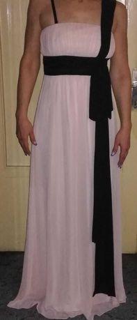 Rochie lunga de ocazie roz pal noua, NISSA