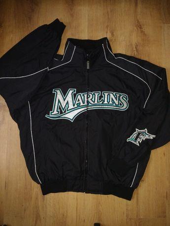 Geaca baseball Majestic MLB Miami Marlins mărimea XL