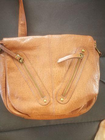 Дамска чанта, кафява