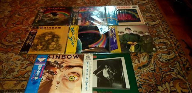 продам виниловые пластинки  Rainbow-8LP/Япония/