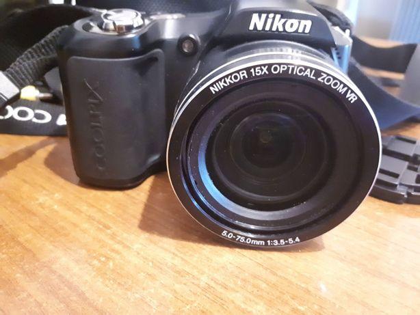 Vand aparat foto digital Nikon Coolpix L100 negru