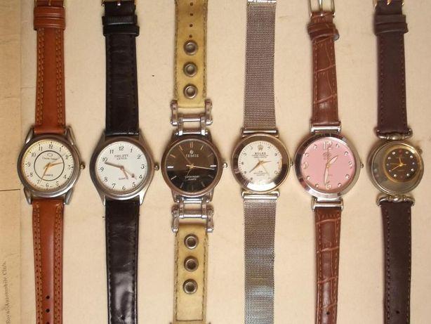 6 ceasuri de dama si unisex, păstrate in conditii bune, functionale